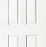 steel door with fan light