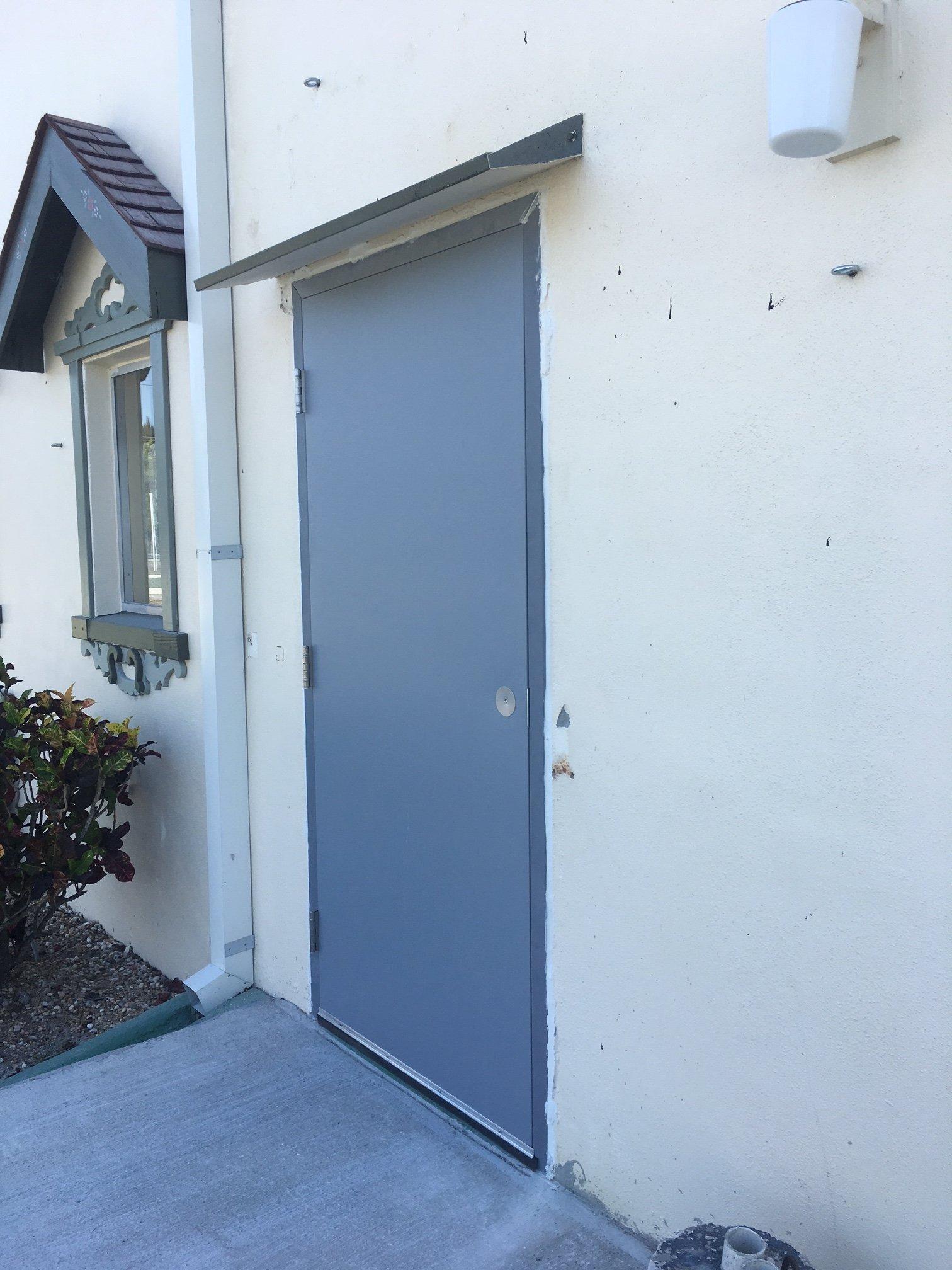 Anything in doors interior office door installation for Exterior door replacement