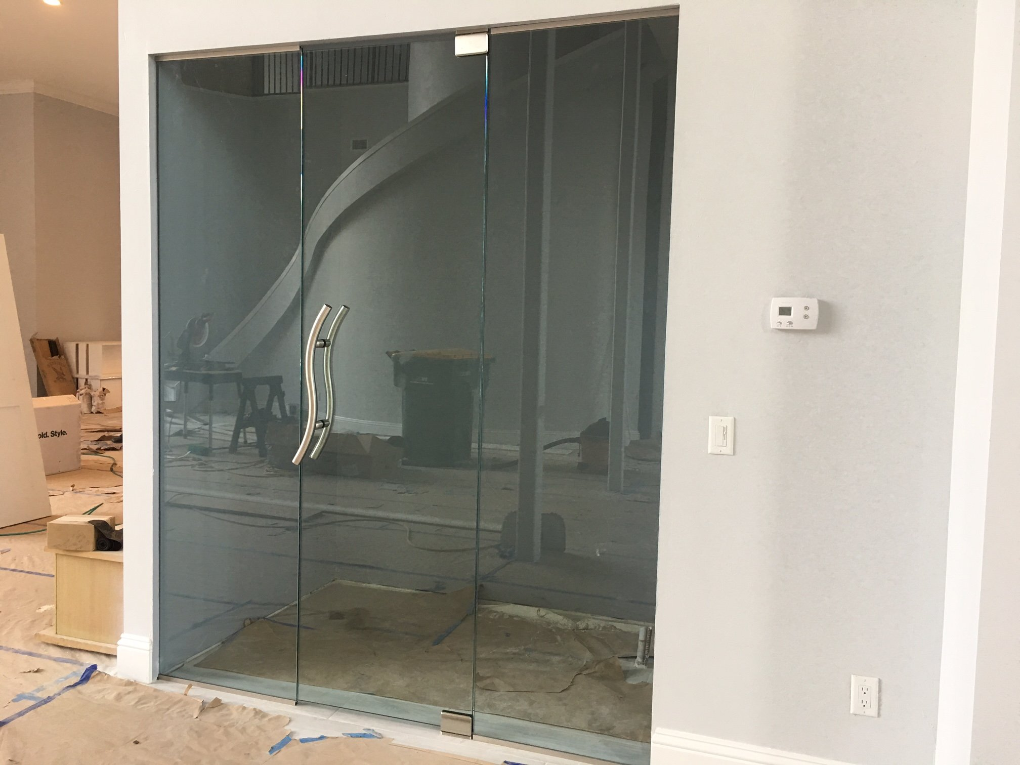2016 10 commercial storefront glass doors - Glass Wall