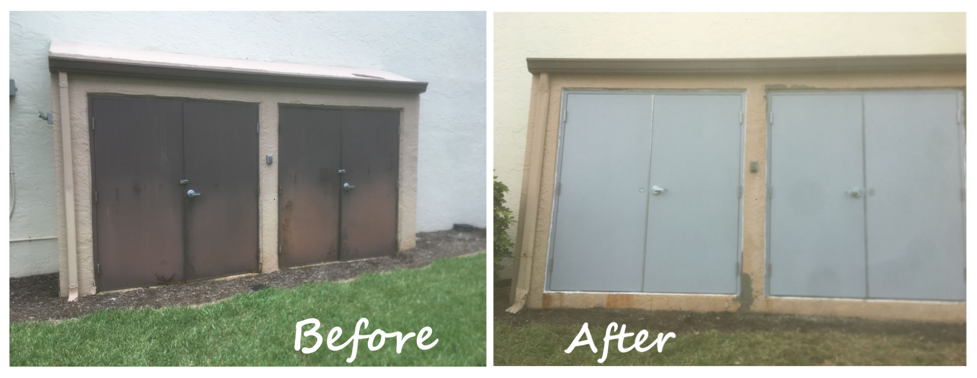 Before/After Door Replacement
