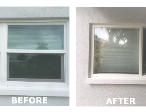 Before/After Window Replacement