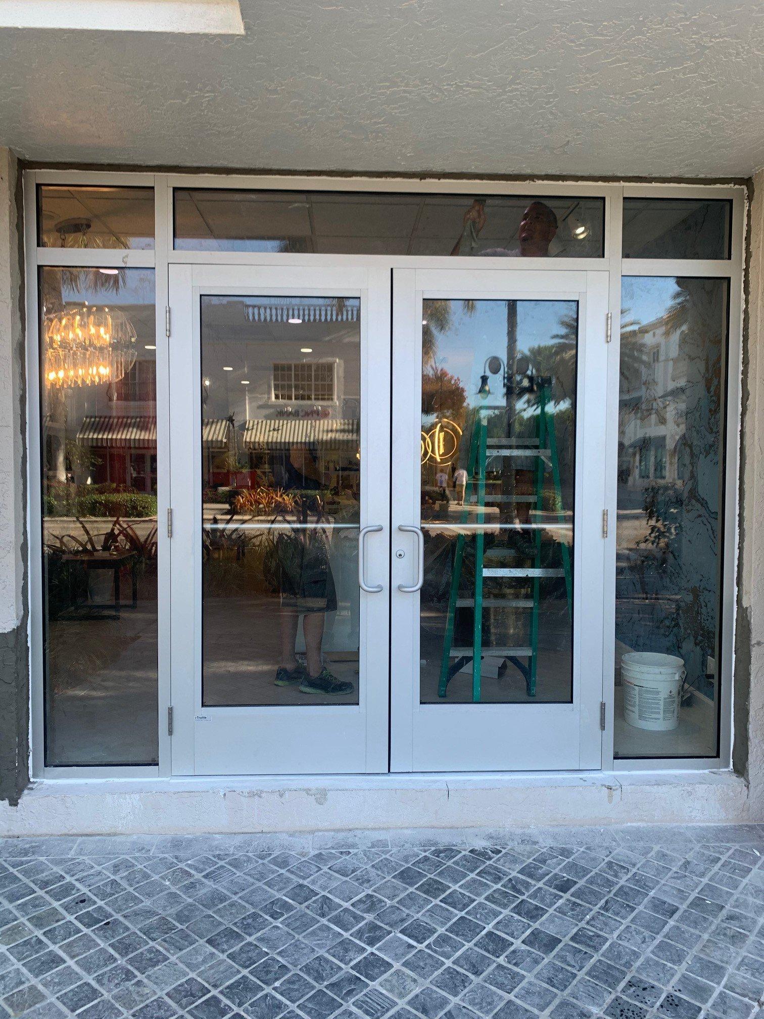 Replacing Windows with Entry Door